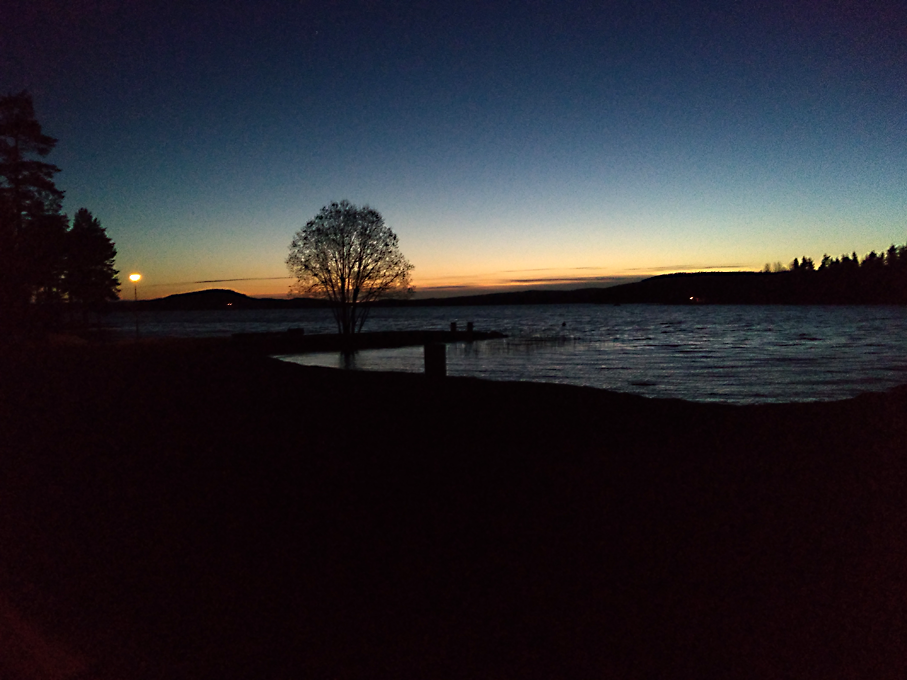 Sunset at Camp Viking
