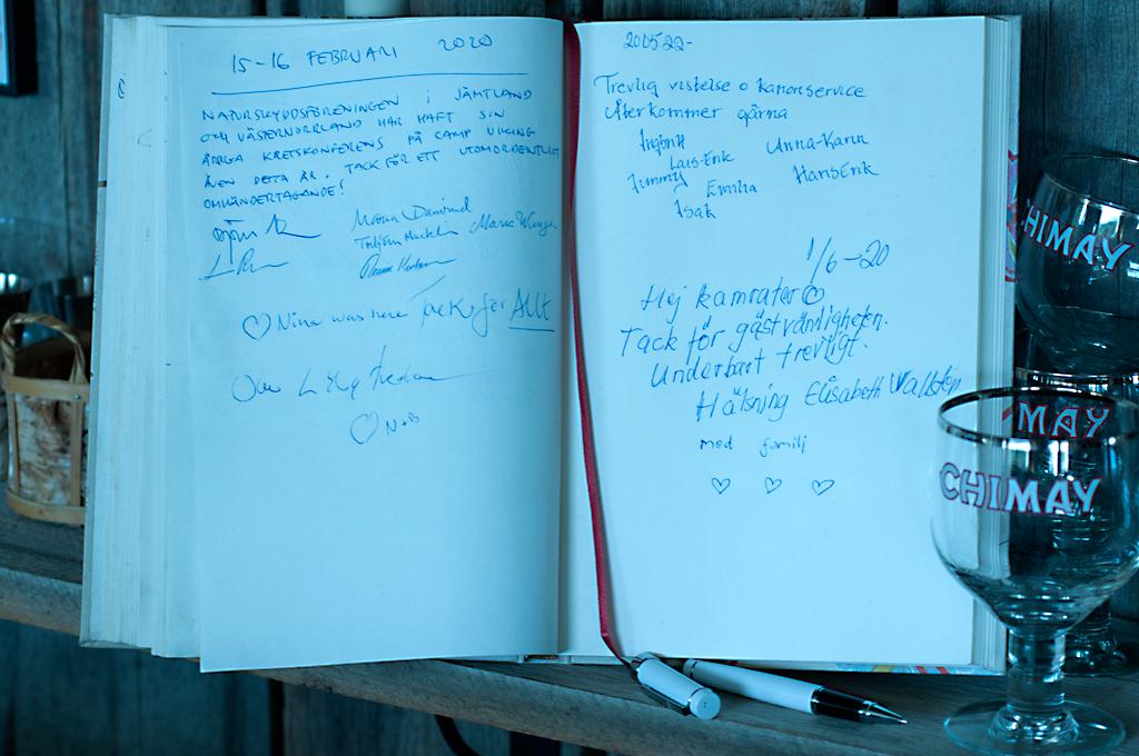 Guestbook Beaucoup de BlaBla / Camp VIking