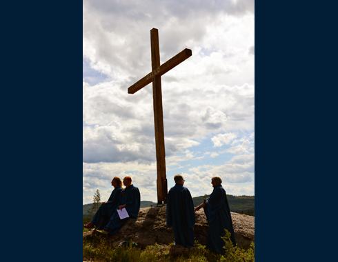 St. Olavsleden Cross Gällö