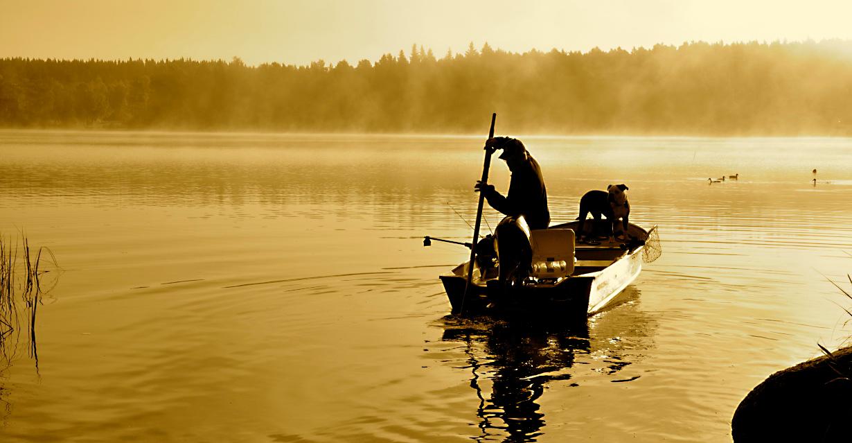 Fishing at Camp Viking