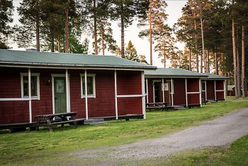 Overview Camp Viking Cabins